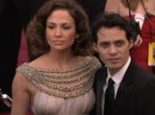 Jennifer Lopez and husband Marc Antony at Oscars, Los Angeles; 25 February 2007