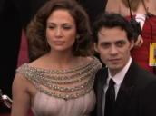 Jennifer Lopez and husband Marc Antony at Oscars, Los Angeles; 25 February 2007