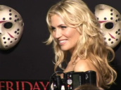 Willa Ford poses for photographers at Friday the 13th premiere, Los Angeles; 9 February 2009