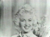 Marilyn Monroe smiles, laughs and pouts during interview on Person to Person; 1950\%27s